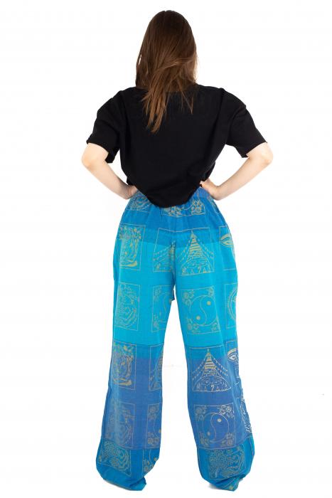 Pantaloni lejeri albastri - Heart of Hinduism [4]