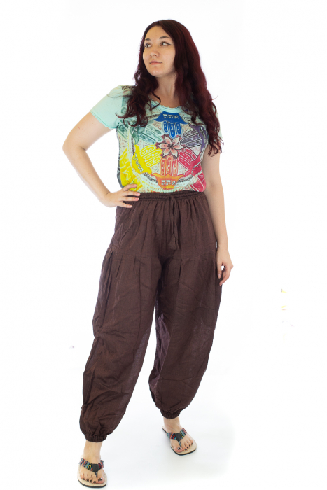 Pantaloni lejeri - Maro 0