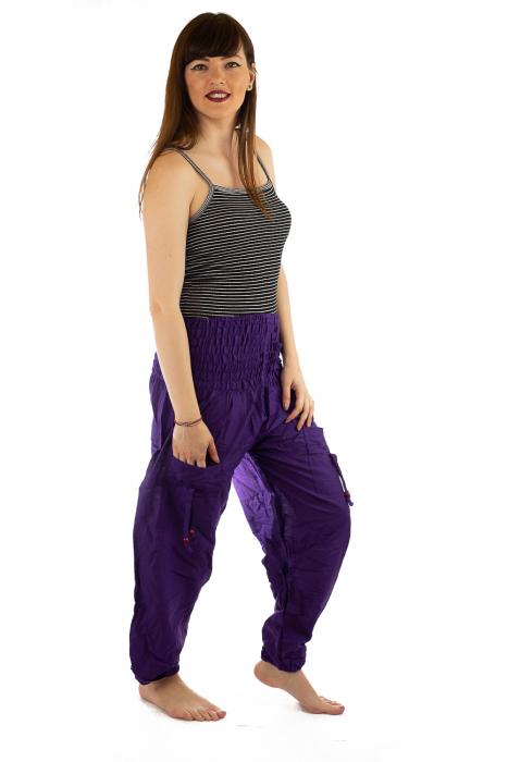 Pantaloni Lejeri - Mov 2