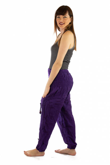 Pantaloni Lejeri - Mov 1