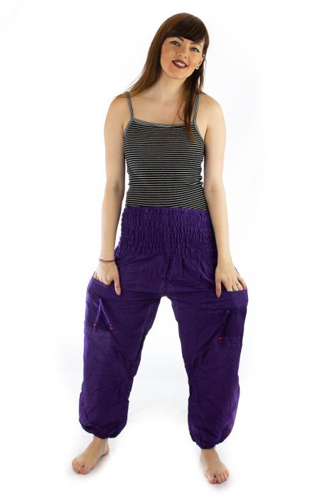 Pantaloni Lejeri - Mov 0
