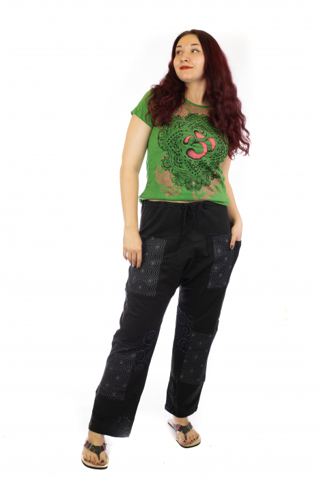 Pantaloni lejeri din bumbac - Model 2 A731 0