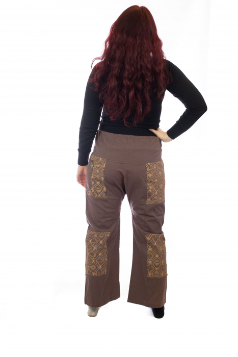 Pantaloni lejeri din bumbac - Model 7 A731 2