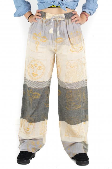 Pantaloni lejeri gri deschis - Heart of Hinduism [0]