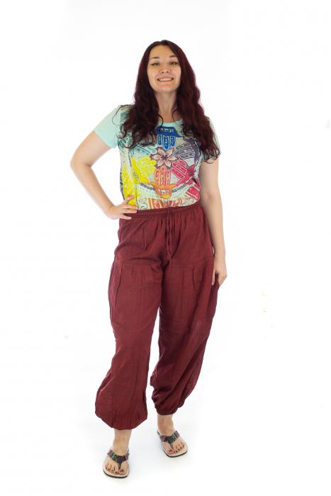 Pantaloni lejeri - Rosii 0