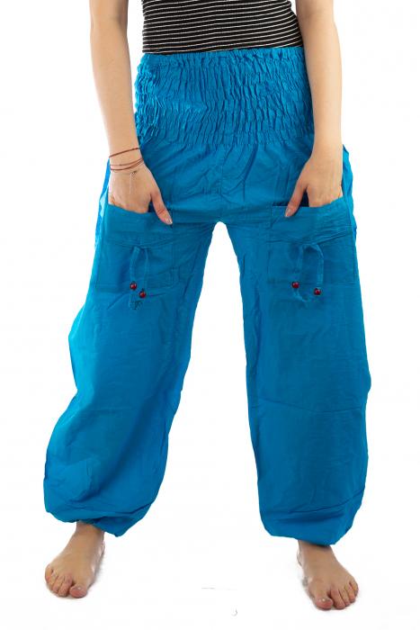 Pantaloni Lejeri - Turcoaz 1