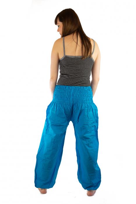 Pantaloni Lejeri - Turcoaz 4