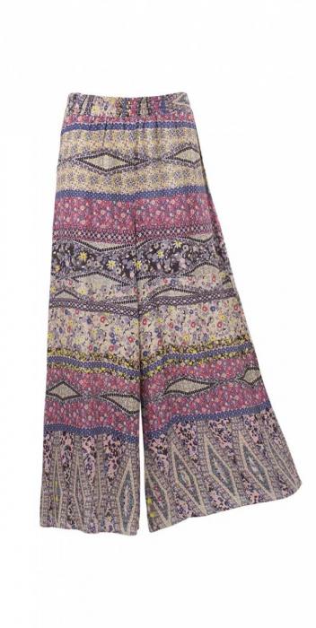 Pantaloni lejeri si vaporosi de vara - PA16291 2