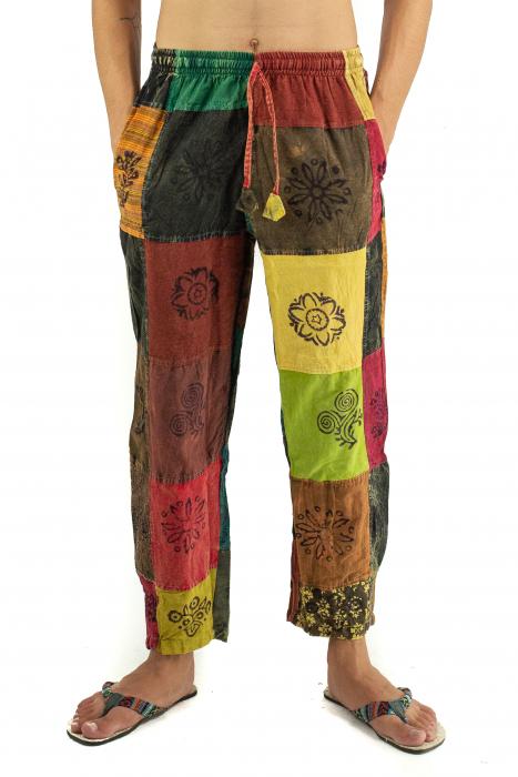 Pantaloni lejeri unicat - Patches - Model 56 [0]