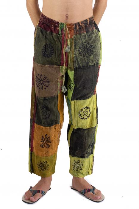 Pantaloni lejeri unicat - Patches - Model 61 [0]
