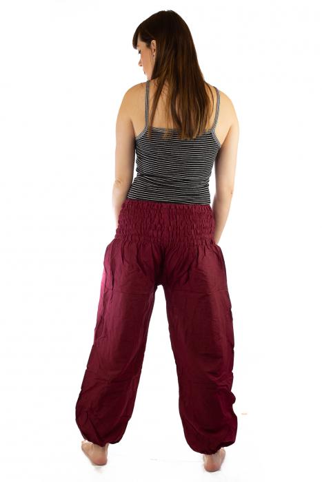 Pantaloni Lejeri - Bordo 4