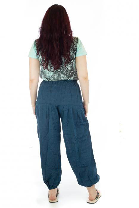 Pantaloni lejeri - Albastru inchis 2