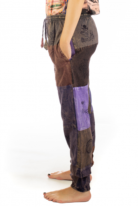 Pantaloni lungi cu patch - Model 17 4