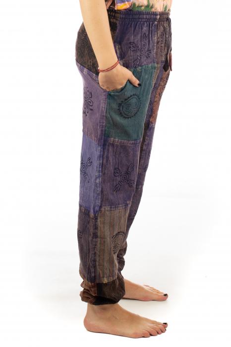 Pantaloni lungi cu patch - Model 17 6