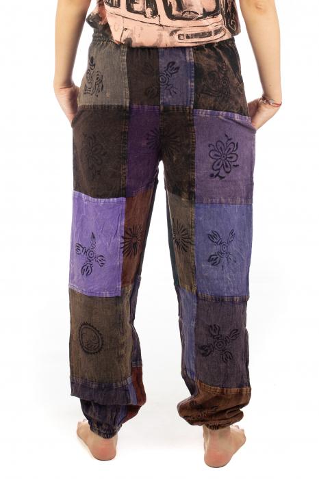 Pantaloni lungi cu patch - Model 17 8