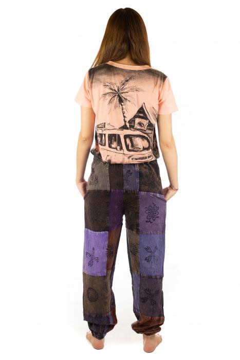 Pantaloni lungi cu patch - Model 17 7