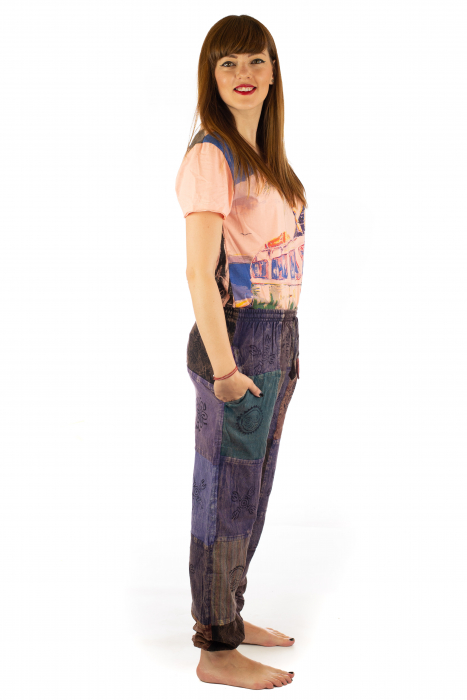 Pantaloni lungi cu patch - Model 17 5