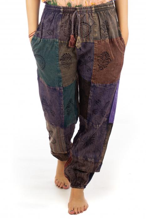 Pantaloni lungi cu patch - Model 17 0