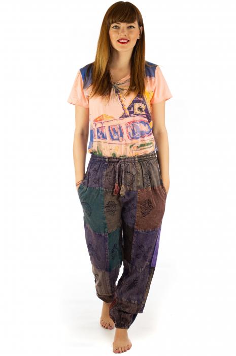 Pantaloni lungi cu patch - Model 17 2