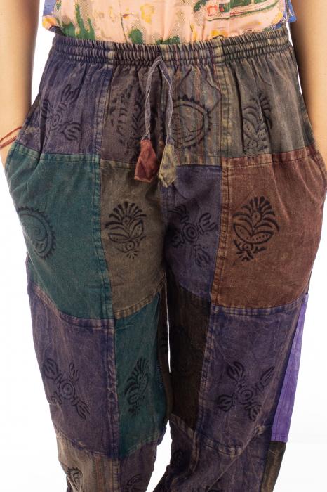 Pantaloni lungi cu patch - Model 17 1