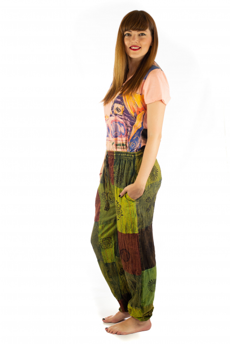 Pantaloni lungi cu patch - Model 18 2