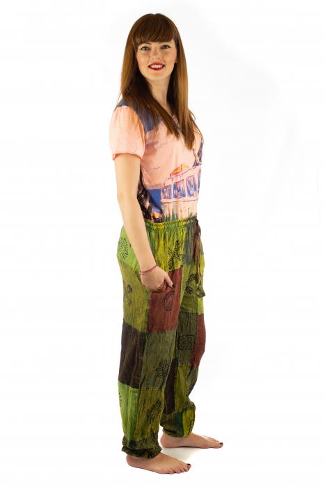 Pantaloni lungi cu patch - Model 18 4