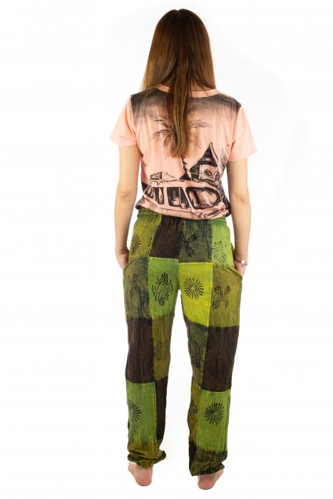 Pantaloni lungi cu patch - Model 18 5