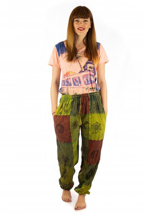 Pantaloni lungi cu patch - Model 18 1