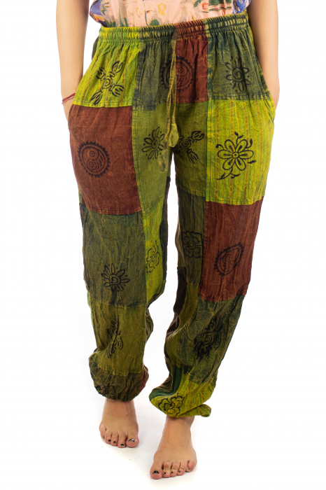 Pantaloni lungi cu patch - Model 18 0