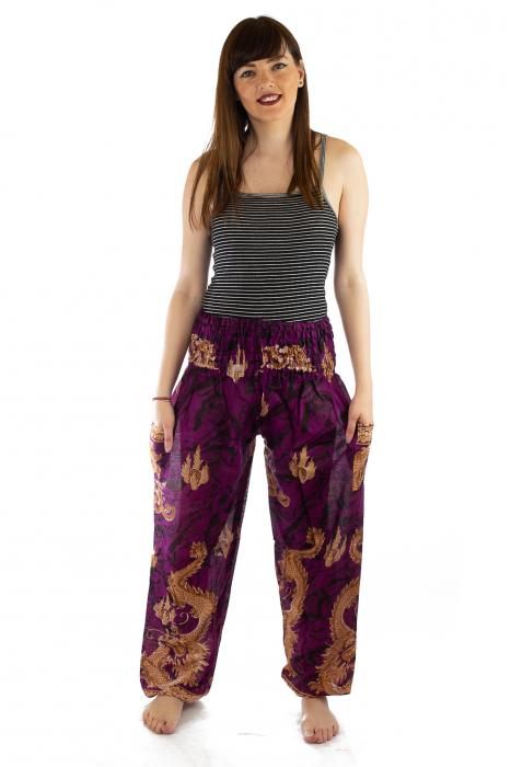 Pantaloni Print Model 5 0