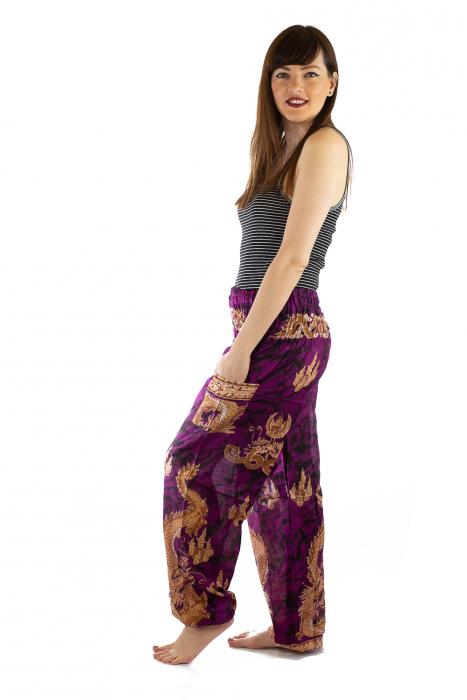 Pantaloni Print Model 5 3