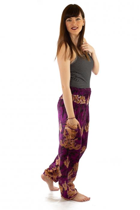 Pantaloni Print Model 5 4