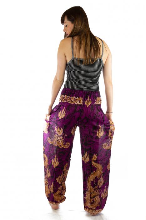 Pantaloni Print Model 5 5