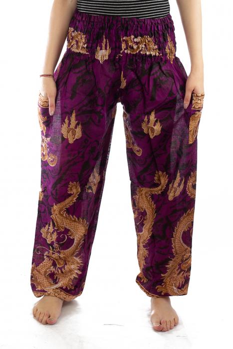 Pantaloni Print Model 5 1