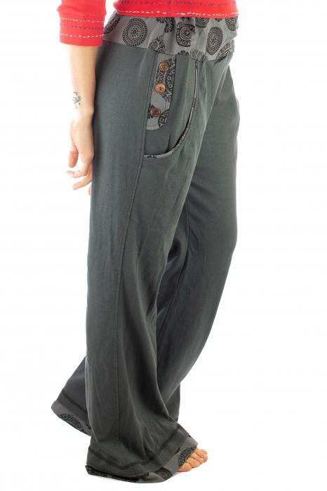 Pantaloni gri - Mandala gri 7
