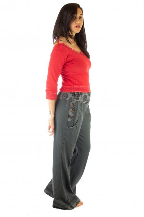 Pantaloni gri - Mandala gri 6