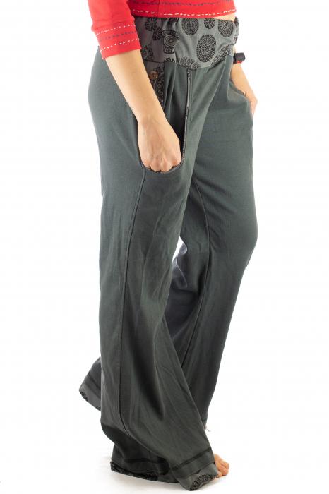 Pantaloni gri - Mandala gri 5