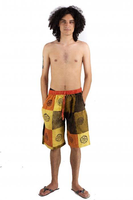 Pantaloni scurti cu patch - Model 20 [1]