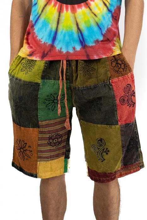 Pantaloni scurti cu patch - Model 10 [0]