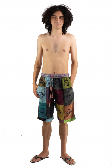 Pantaloni scurti cu patch - Model 13 [1]