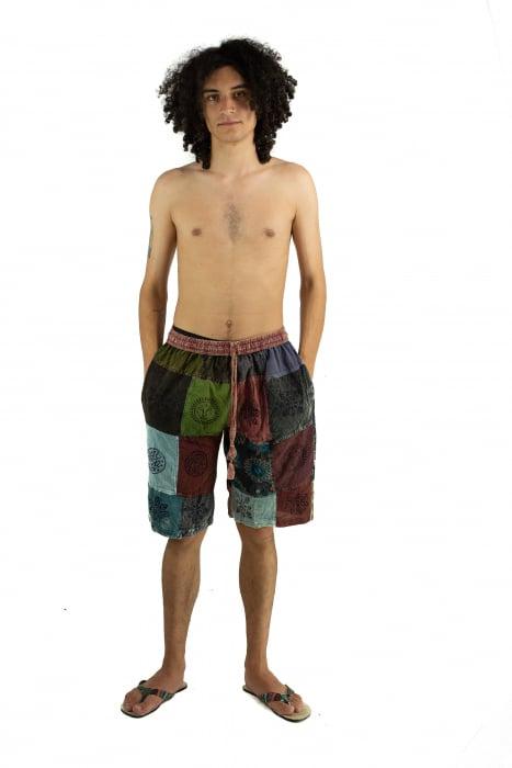 Pantaloni scurti cu patch - Model 16 [1]