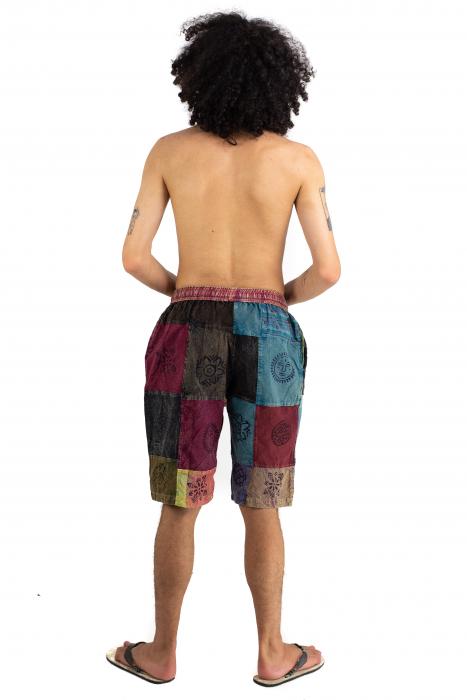 Pantaloni scurti cu patch - Model 16 [3]
