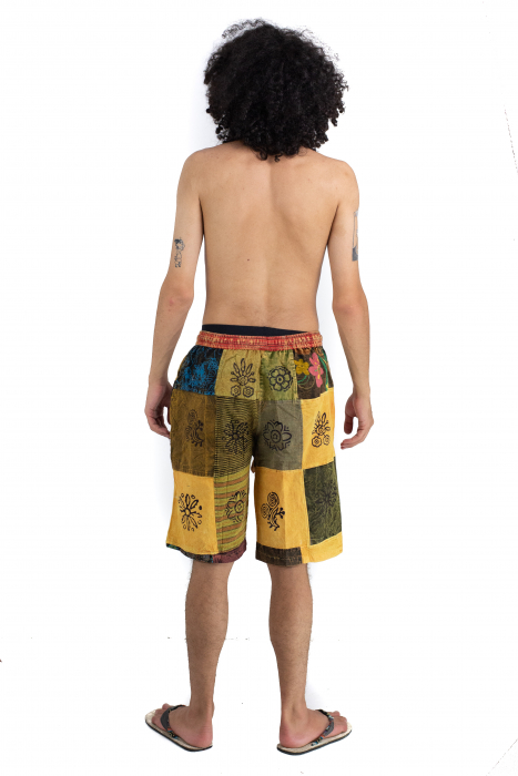 Pantaloni scurti cu patch - Model 21 [3]
