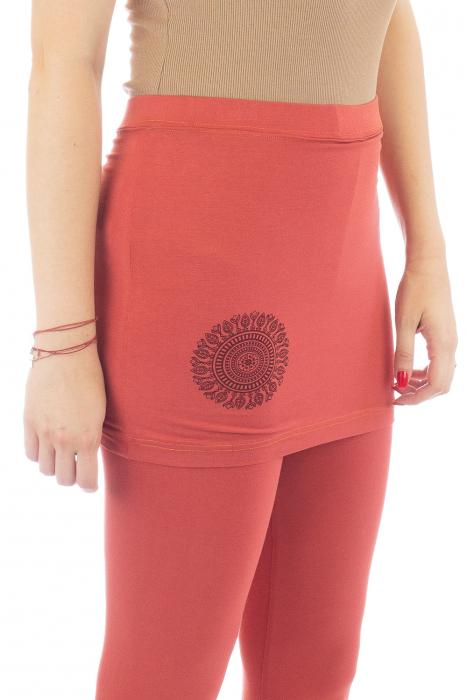 Pantaloni tip fusta din bumbac - Yoga Pants 4