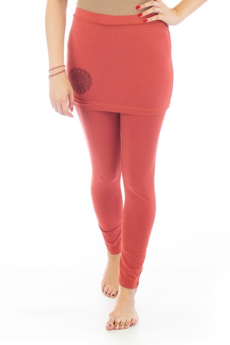 Pantaloni tip fusta din bumbac - Yoga Pants 0