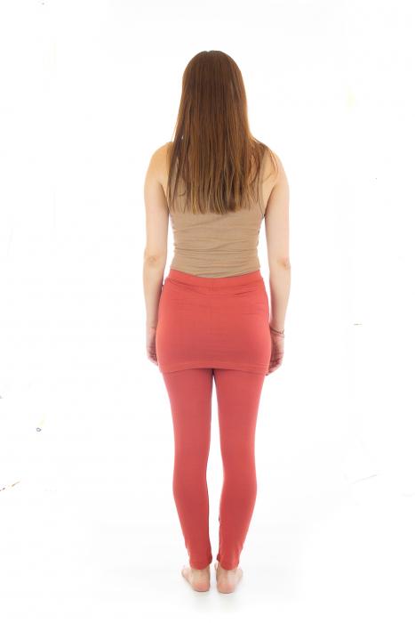 Pantaloni tip fusta din bumbac - Yoga Pants 5