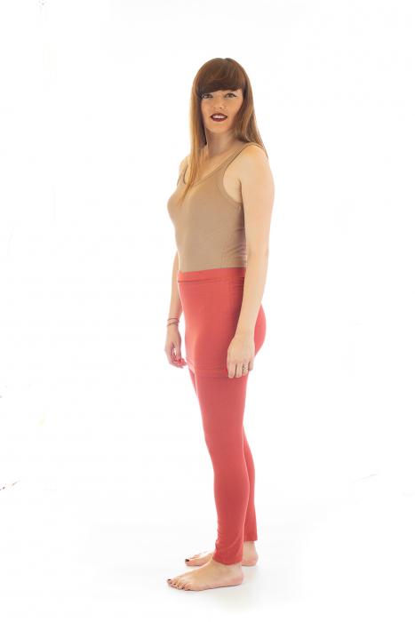 Pantaloni tip fusta din bumbac - Yoga Pants 2