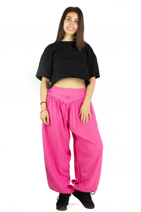 Pantaloni subtiri - Pink Princess - PA10447 [1]