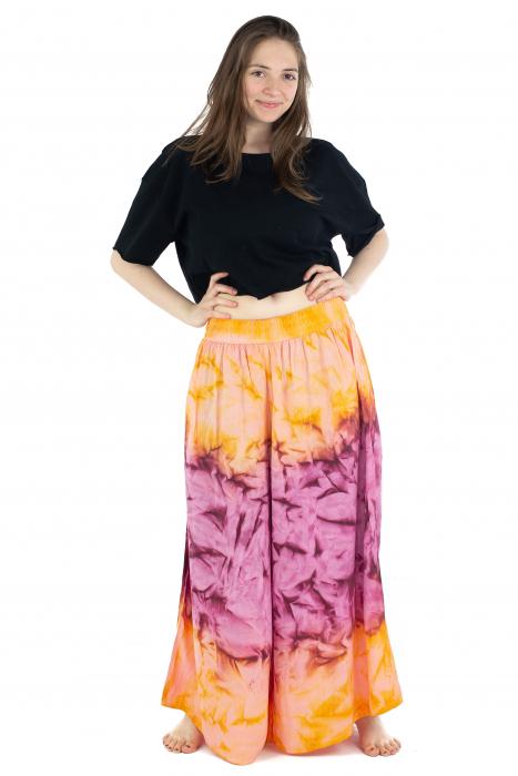 Pantaloni Tie-Dye - Portocaliu [2]