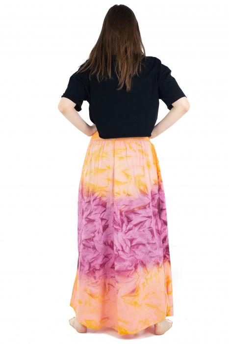 Pantaloni Tie-Dye - Portocaliu [4]